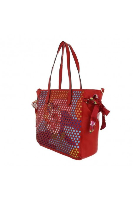 Damen Shopper - red