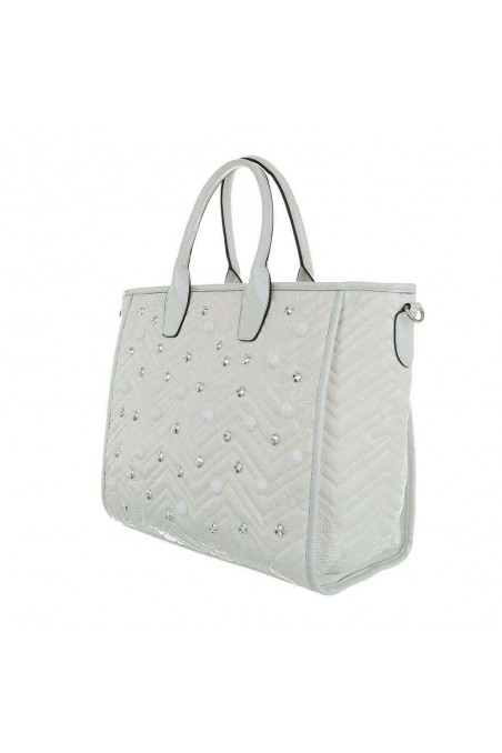 Damen Shopper - white