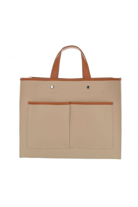 Damen Shopper - apricot