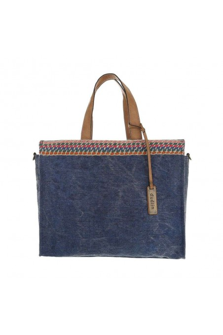 Damen Shopper - blue