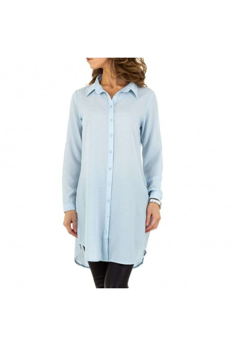 Damen Longbluse von Acos Paris - blue