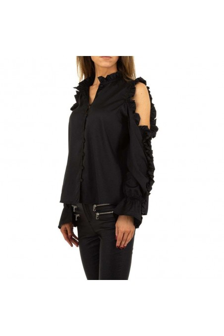Damen Bluse von Emma&Ashley Design - black