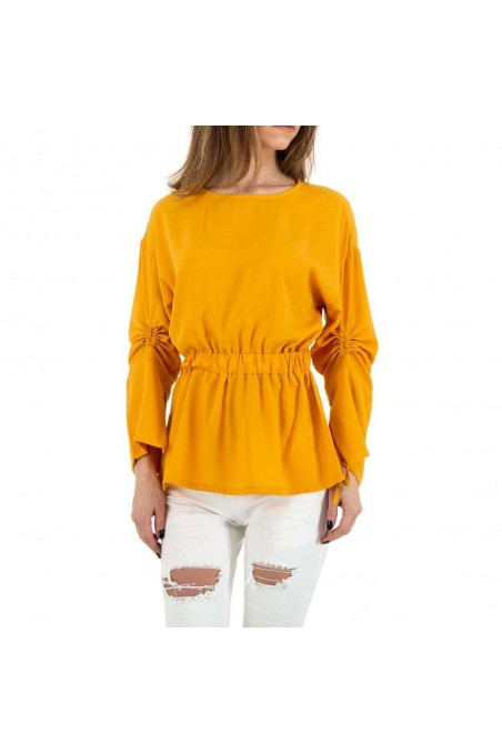 Damen Bluse von MC Lorene - yellow