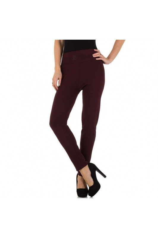 Damen Leggings von Holala - wine