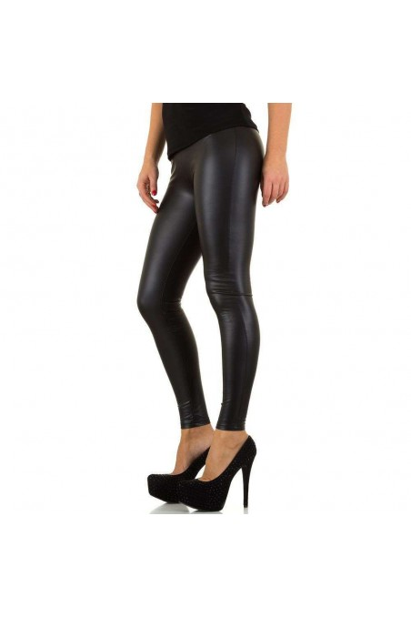 Damen Leggings von Voyelles - black