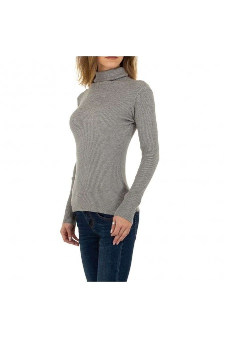 Damen Pullover von Emma&Ashley Gr. One Size - grey