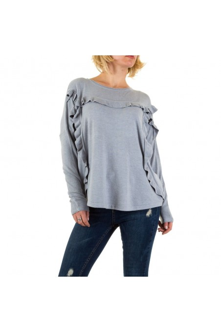 Damen Sweatshirt Gr. one size - grey
