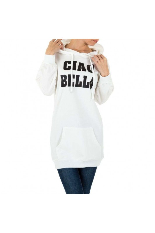 Damen Sweatshirt - white