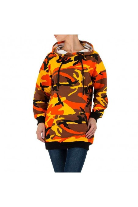 Damen Sweatshirt - orange