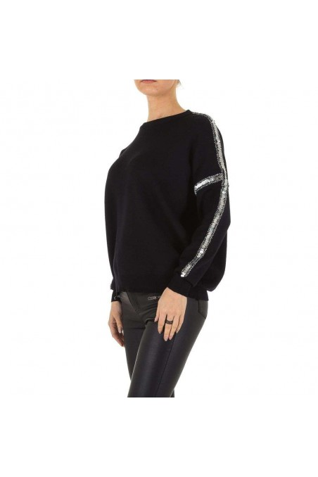 Damen Pullover Gr. one size - black