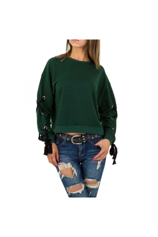 Damen Sweatshirt von JCL - green
