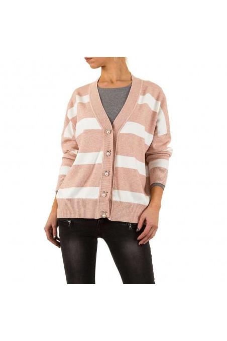 Damen Strickjacke von Mc Lorene Gr. one size - rose