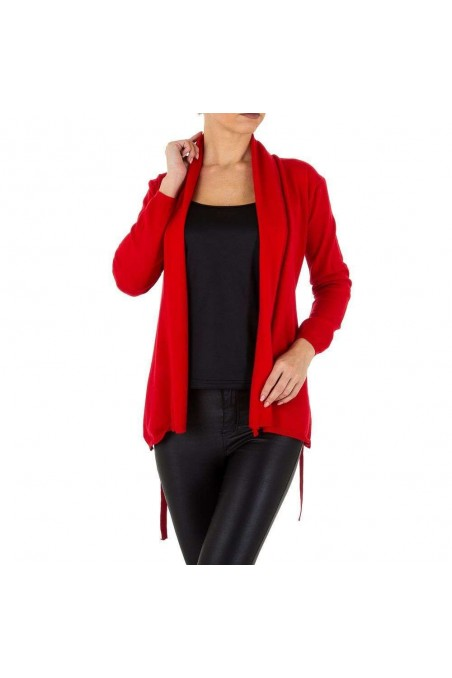 Damen Strickjacke von Emmash Paris Gr. One Size - red