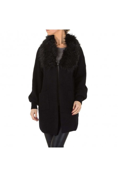 Damen Mantel von Voyelles Gr. One Size - black