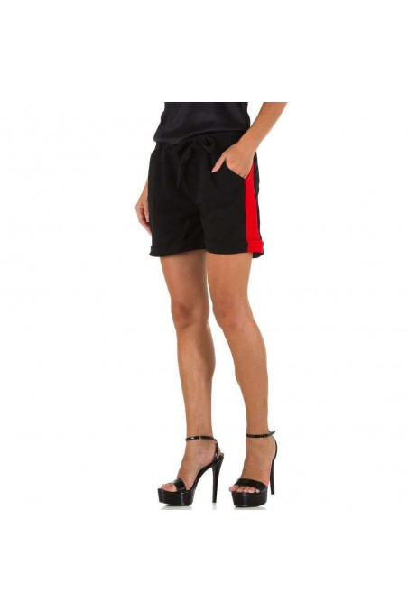 Damen Shorts von Holala - blackred