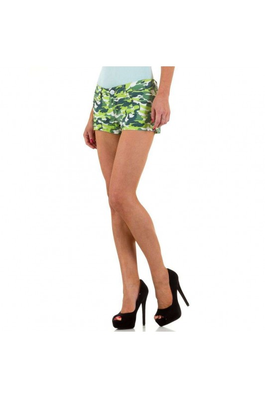 Damen Shorts von Simply Chic - green