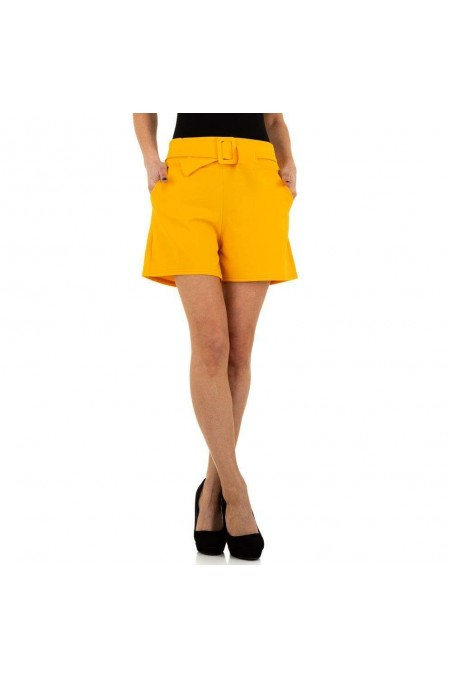 Damen Shorts von Holala - yellow