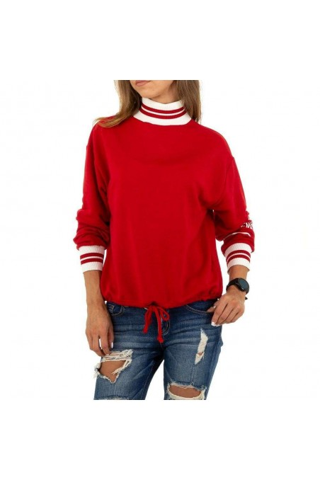 Damen Sweatshirt von Acos - red