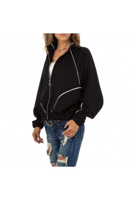 Damen Sweatjacke von Acos - black