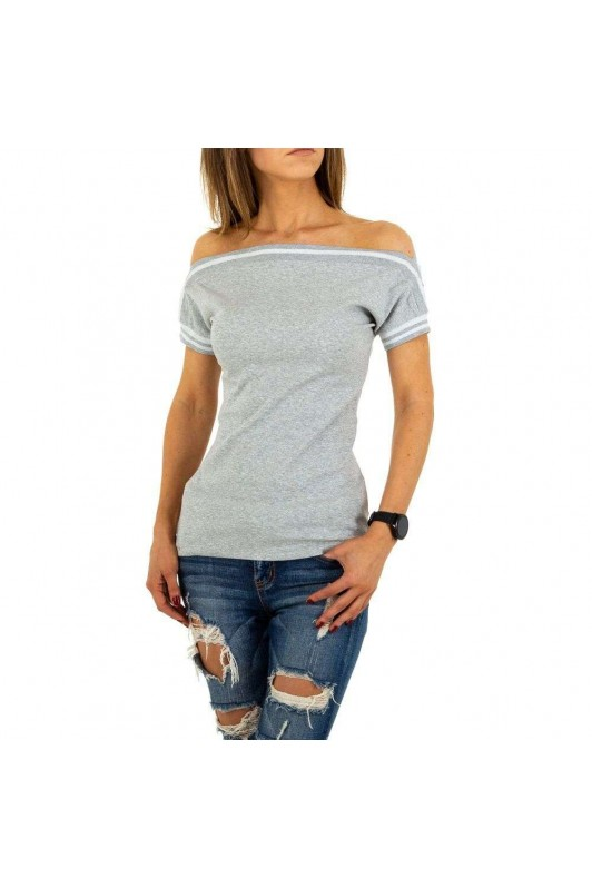 Damen Shirt von Emma&Ashley Design - grey