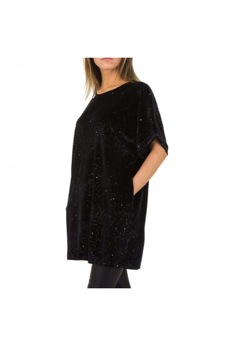 Damen Tunika von JCL Gr. One Size - black