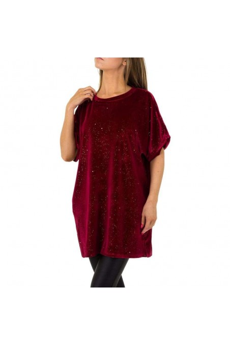Damen Tunika von JCL Gr. One Size - wine
