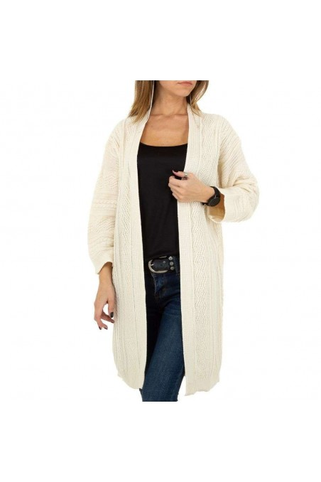 Damen Strickjacke von JCL - cream