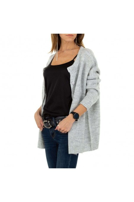 Damen Strickjacke von JCL - grey