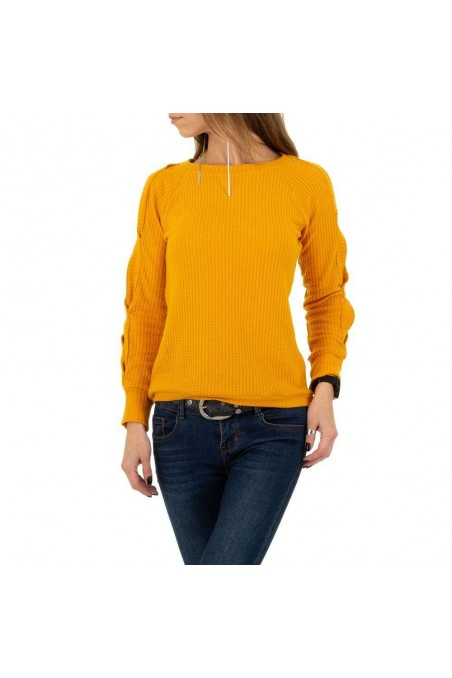Damen Pullover von Acos - yellow