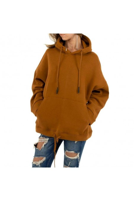 Damen Sweatshirt von Emma&Ashley - lighttan