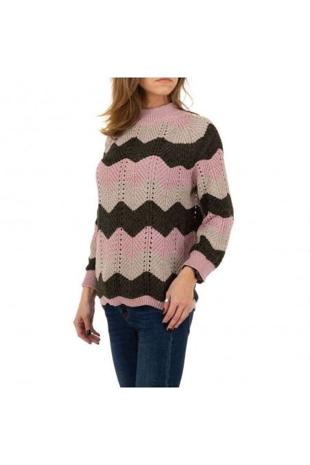 Damen Pullover von Emma&Ashley Gr. One Size - rose