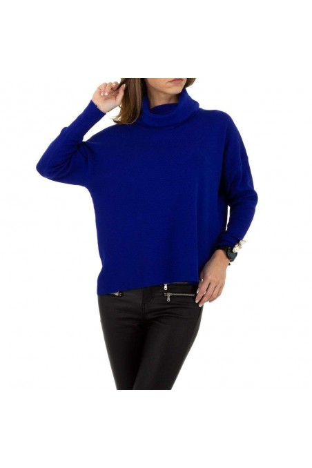 Damen Pullover von SHK Paris Gr. One Size - royalblue