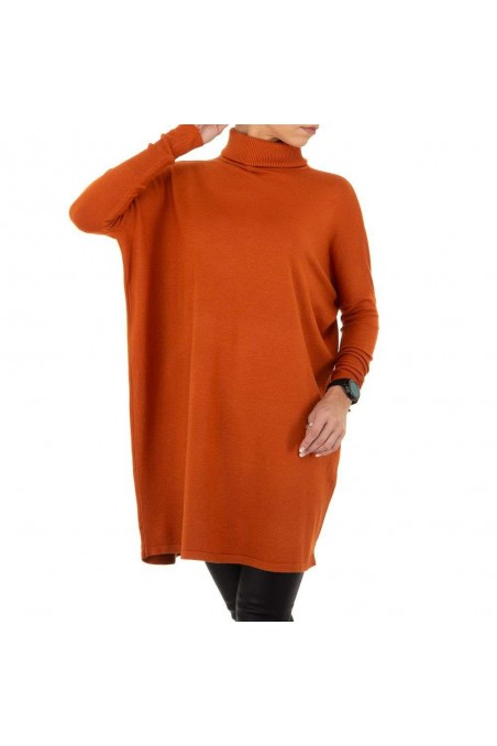 Damen Pullover von SHK Paris Gr. One Size - rustred