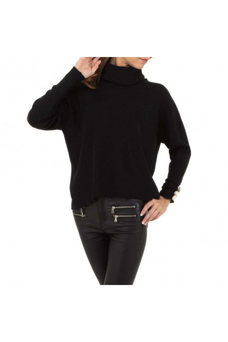 Damen Pullover von SHK Paris Gr. One Size - black