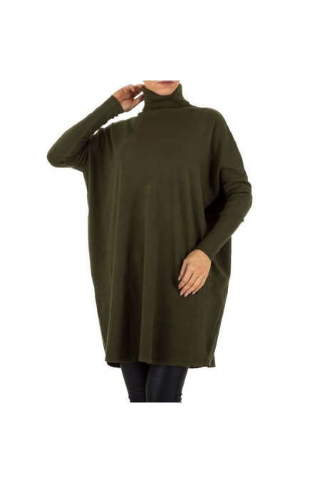 Damen Pullover von SHK Paris Gr. One Size - green