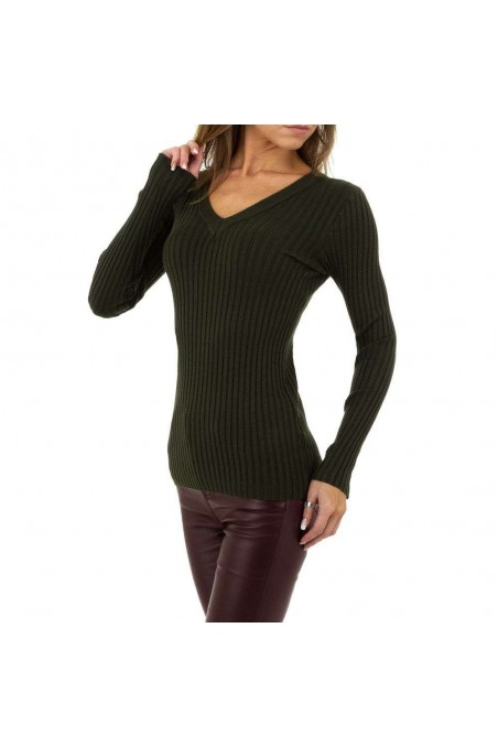 Damen Pullover von Emma&Ashley Gr. One Size - green