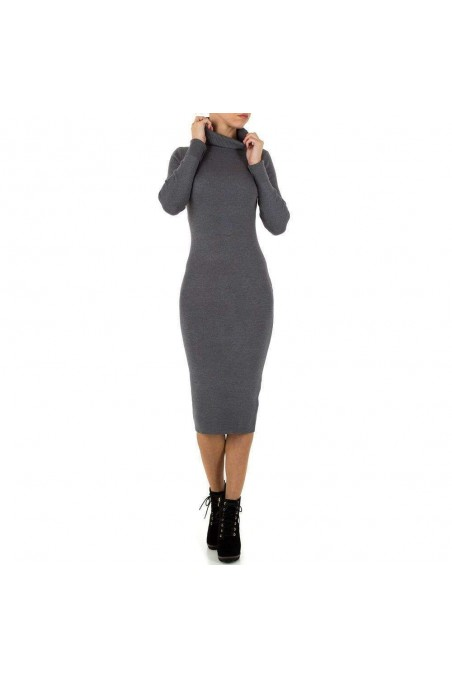Damen Kleid von Shk Paris Gr. one size - D.grey