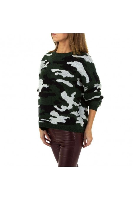 Damen Pullover von Emma&Ashley Design Gr. One Size - armygreen