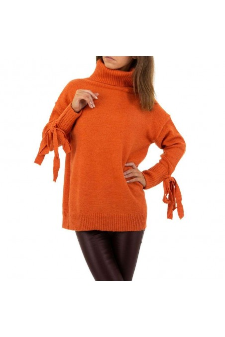 Damen Pullover von SHK Paris Gr. One Size - orange