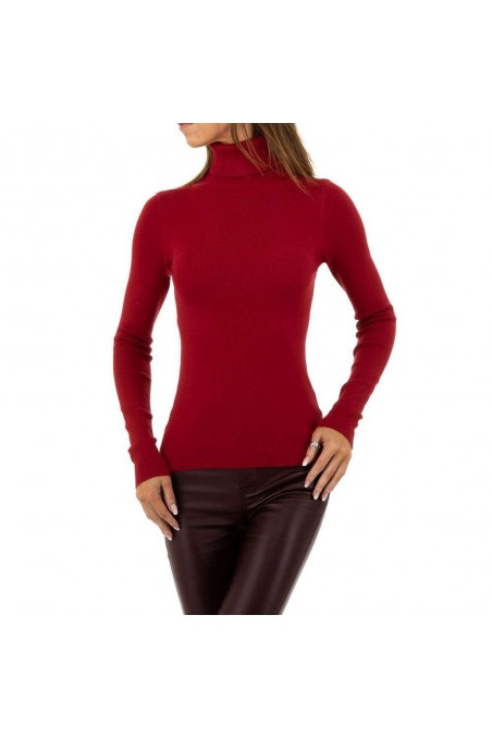 Damen Pullover von SHK Paris Gr. One Size - wine
