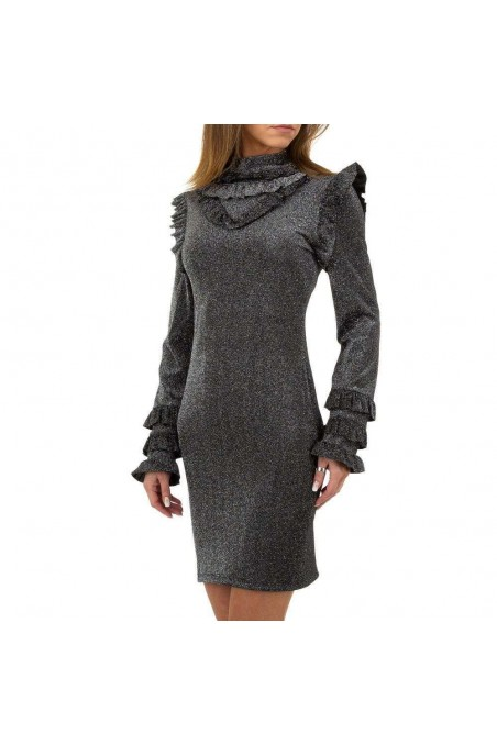 Damen Kleid von Emma&Ashley Design - silvery