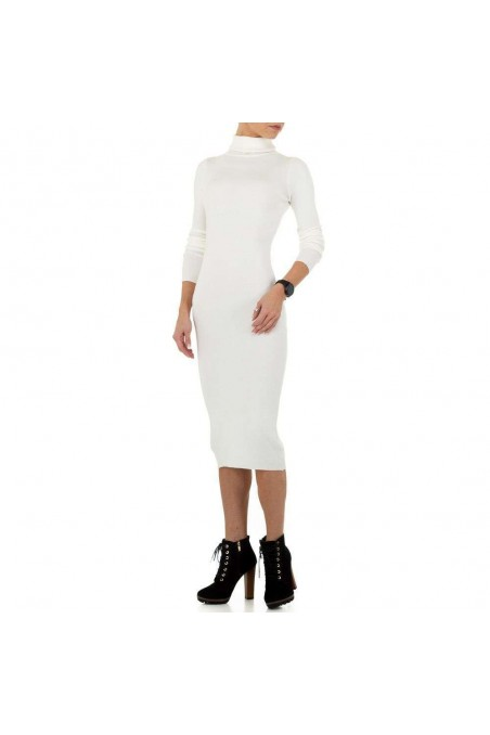 Damen Kleid von SHK Paris Gr. One Size - white