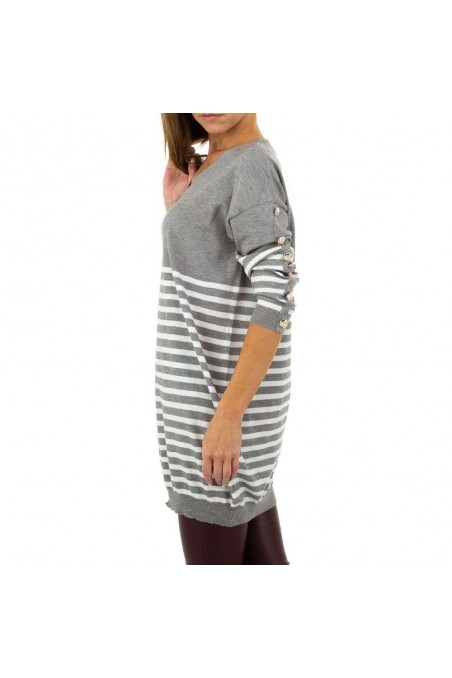 Damen Pullover von Emma&Ashley Design Gr. One Size - grey