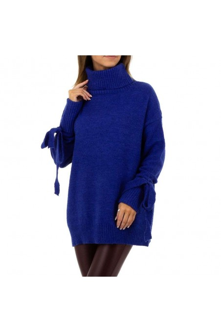 Damen Pullover von SHK Paris Gr. One Size - blue