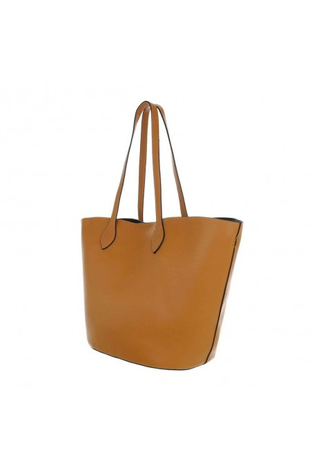 Damen Shopper - yellow