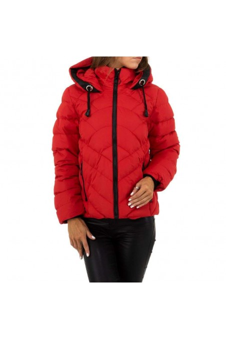 Damen Jacke von Nature - red