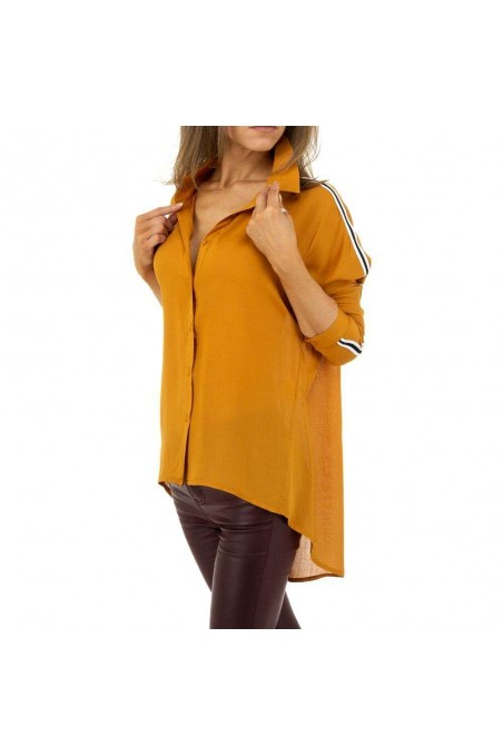 Damen Hemdbluse von Glo Story - orange