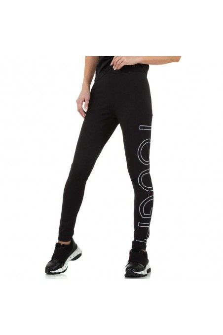 Damen Leggings von Glo Story - black