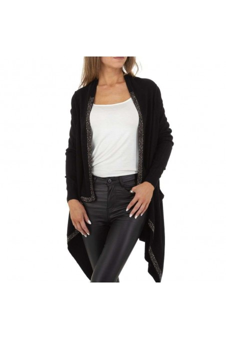 Damen Strickjacke von Glo Story Gr. One Size - black