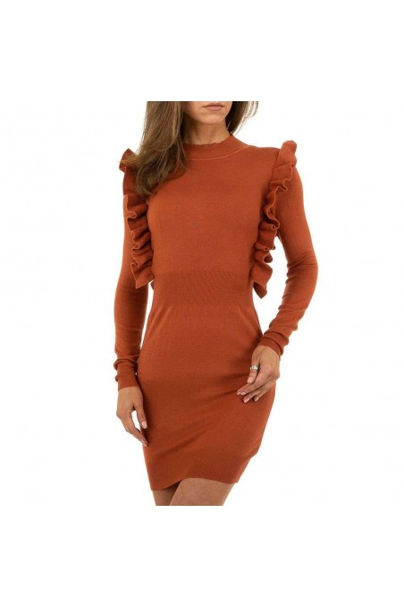Damen Kleid von SHK Paris Gr. One Size - camel